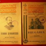2 Brosuri din Colectia - CUNOSTINTE FOLOSITOARE 1940 - Carte de aventura