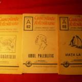 3 Brosuri din Colectia - CUNOSTINTE FOLOSITOARE 1940-42 - Carte de aventura
