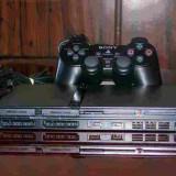 Play Station 2 SLIM ( o maneta, memory stick) - PlayStation 2 Sony