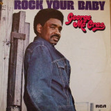 Disc vinyl George McCrae - Rock Your Baby 1974 TK Records