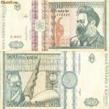 Bacnota 500 lei, 1992 - Bancnota romaneasca