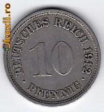 * Germania 10 PFENNIG 1912 F