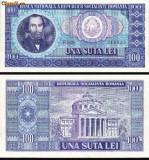 Bacnota 100 lei, 1966