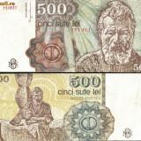 Bacnota 500 lei, aprilie 1991 - Bancnota romaneasca