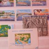 1977 LP 948-50 Navigatia europeana pe Dunare - Timbre Romania, Nestampilat