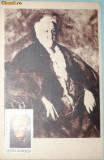 PORTRETUL LUI M. SADOVEANU,  ILUSTRATA MNH CU TIMBRU PT. MAXIMA (C.P.24)