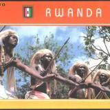 RWANDA - DANS POPULAR INTORE, ILUSTRATA MNH (S21), Necirculata, Fotografie