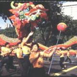 SINGAPORE, DANS POPULAR, PARADA DRAGONULUI, ILUSTRATA MNH (S20), Necirculata, Fotografie