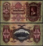 UNGARIA BANCNOTA DE 100 PENGO 1930 PERFECT UNC