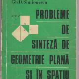 PROBLEME DE SINTEZA DE GEOMETRIE PLANA SI IN SPATIU - Manual scolar, Matematica