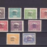 CEHOSLOVACIA 1920 CZ134