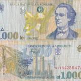 1000 LEI 1998 uzata - Bancnota romaneasca