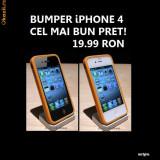 BUMPER iPHONE 4 4G BUMPER - ORANGE - DOAR 19.99 RON