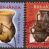 Romania 2005 - LP 1706 - Ceramica Ulcioare - stampilate