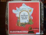 LE FRANCAIS PAR DES IMAGES ,3 DISCURI ,DISC VINIL (viorel)
