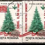 Romania 2005 - LP 1684 - Sprijin Pentru Semeni - stampilate