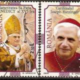 Romania 2005 - LP 1690 - Un Nou Pontificat - stampilate