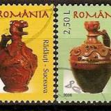 Romania 2006 - LP 1717 - Ceramica - Ulcioare - stampilate