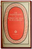 Sfarsit de veac in Bucuresti, roman de Ion Marin Sadoveanu, editie 1985
