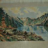 REDUCERE-Goblen - Lac montan 34/18cm - IEFTIN-0, 4 RON /CM - Tapiterie Goblen