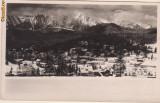Predealul iarna  : vedere spre Muntii Bucegi- circulata 1937, timbre