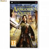 Lord of the Rings: Aragorn's Quest  PSP  SIGILAT (ALVio) + sute de alte jocuri REDUCERE!!!!psp originale