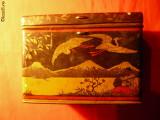 Cutie metalica de Bomboane ''CARAMELA'' nr. 55- interbelica
