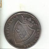 Bnk mnd elvetia - berna - thaler 1797 REPLICA , cupru argintat