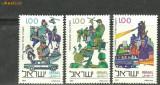 Israel 1977 - POLITIA si JANDARMERIA NATIONALA, serie nestampilata C50, Militar, Nestampilat