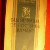 GEO BOGZA - TARI DE PIATRA, DE FOC, SI DE PAMANT- 1939 - Carte de calatorie