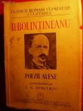 D.BOLINTINEANU - POEZII ALESE - 1940