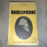Fr. Sieburg - Robespierre - interbelica - Carte veche