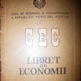 Libret de economii CEC 1963