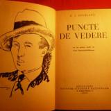 D.I.SUCHIANU - PUNCTE DE VEDERE -Prima editie 1930 - Biografie