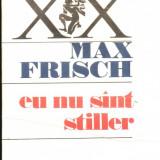 Eu nu sint Stiller - Roman, Anul publicarii: 1989