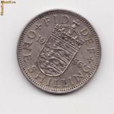 Un shilling - one shilling 1956 ELIZABETH II DEL GRATIA