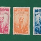 ROMANIA-CONSTITUTIA R.P.R-NESTAMPILATA-LP 232-3 VAL.