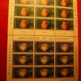 SERIE 2 BLOCURI - EUROPA CEPT 1976 GUERNSEY - Timbre straine