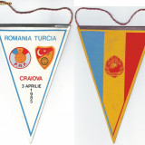 Fanion ( 104 ) - ROMANIA - TURCIA -  Craiova -1985