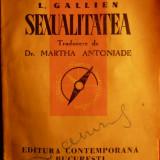L.GALLIEN - SEXUALITATEA -Ed.Contemporana 1942