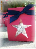 pungute / cutii cadou sau  marturii