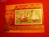 COLITA - NAVE- Olimpiada Munchen 1972 YEMEN stampilat