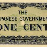 Ocupatia japoneza in Burma (Malaezia) 1 cent 1942 unc