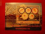 Colita- Olimpiada Sapporo 1972 ,YEMEN , stamp.