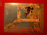 Colita- Olimpiada Sapporo 1972 Patinaj ,YEMEN , stamp.