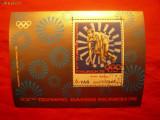 COLITA -ATLETISM -Olimpiada Munchen 1972 YEMEN stamp.