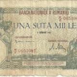 Bancnota 100.000 lei - 21 octombrie 1946 - Bancnota romaneasca