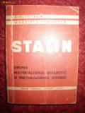 Stalin, despre materialismul dialectic si mat istoric, 1947