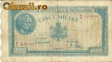 Bancnota 5000 lei - 10 octombrie 1944