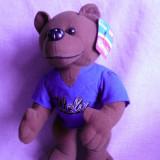 Ursulet de plush, NOU cu eticheta- 24cm - Jucarii plus